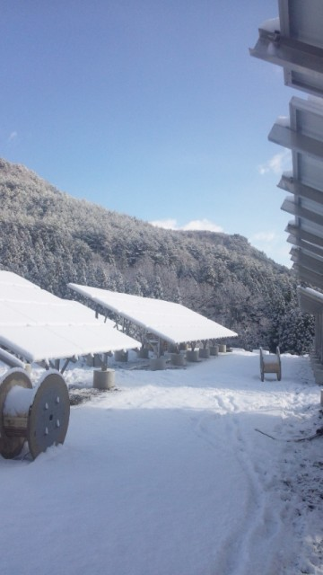 H27.2月 福島第一太陽光発電所施工写真