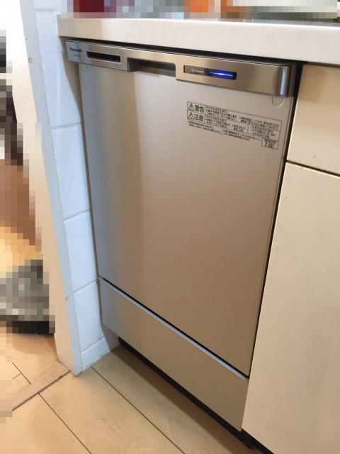 H28.11月 東京都 パナソニック製NP45MC6T 食洗機交換工事