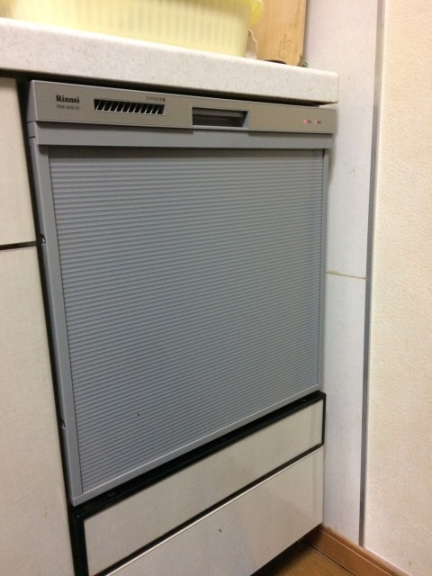 H29.2月 川崎区 食洗機入替工事【リンナイ製 RSW-404ASV】
