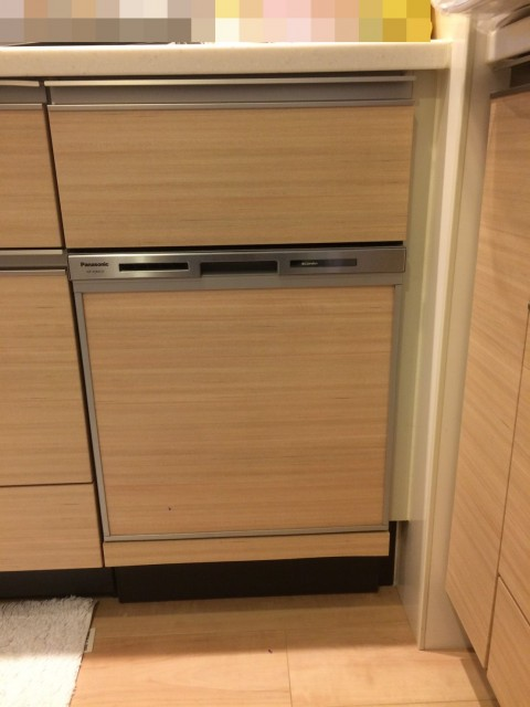 H29.2月 宮前区 食洗機新規取付工事