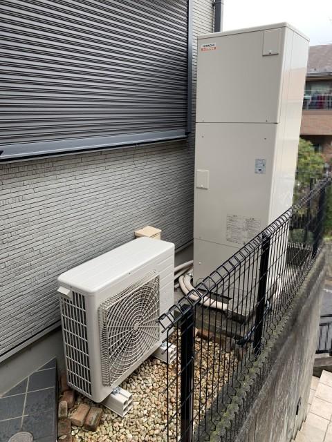 H31.1月 横浜市緑区 電気温水器→エコキュート交換