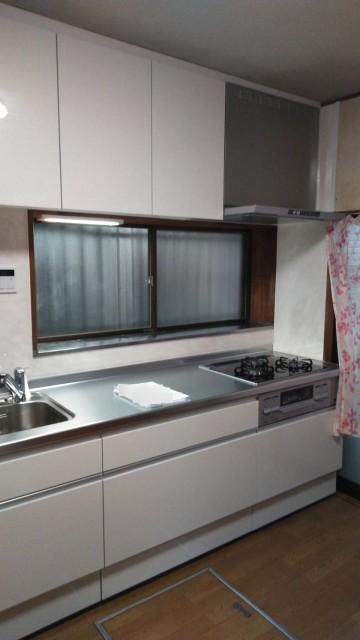 H31.4月 幸区 キッチン・給湯器・洗面台交換工事