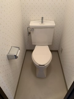 トイレ 作業前1
