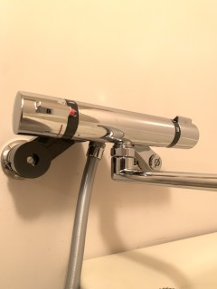 シャワー水栓作業後2